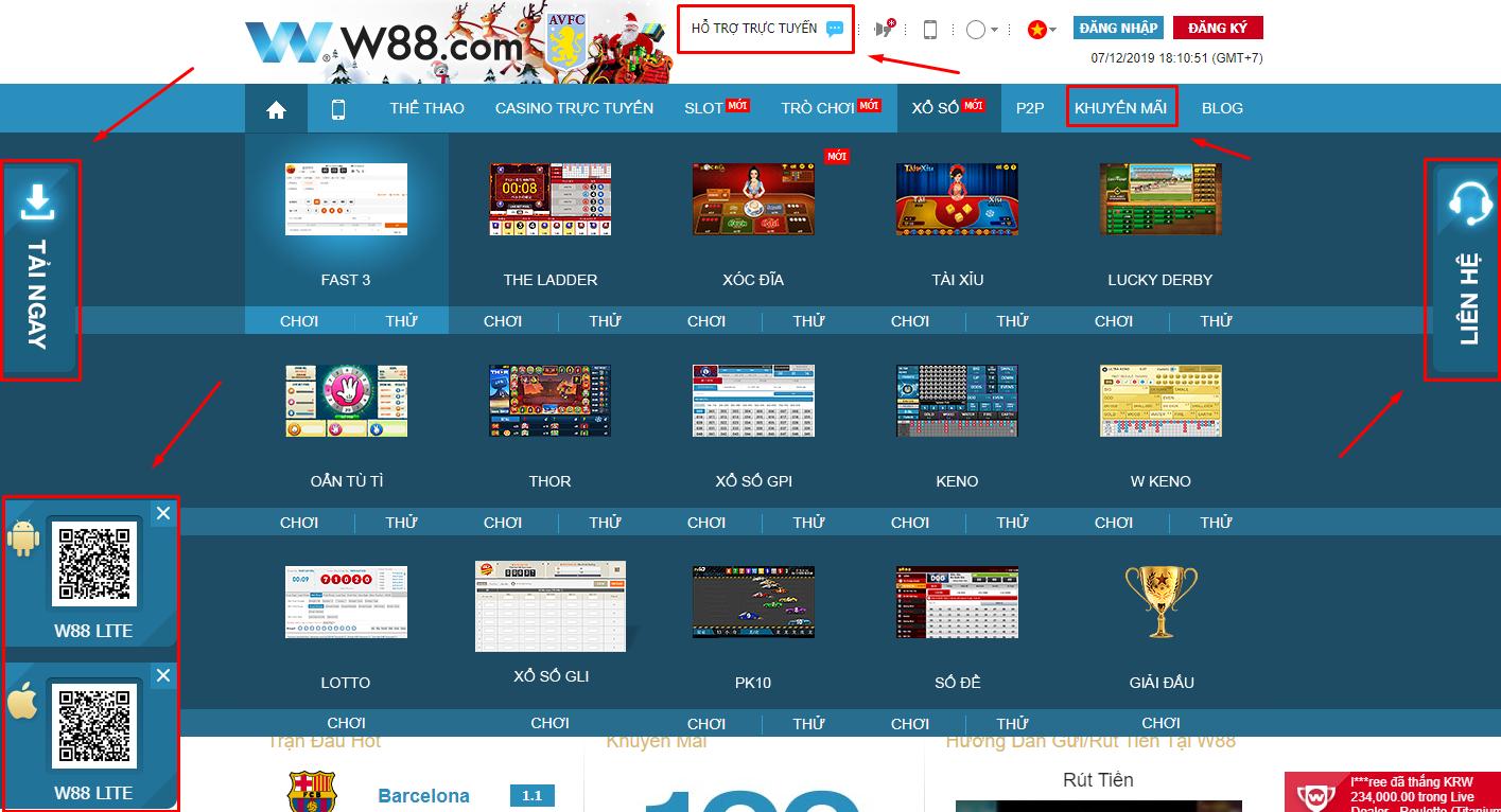 Hướng dẫn tải ứng dụng w88 về máy tính, về diện thoại