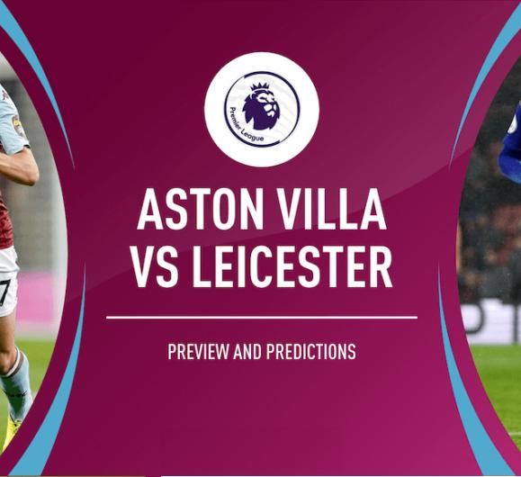 tiep suc Aston Villa vs Leicester City
