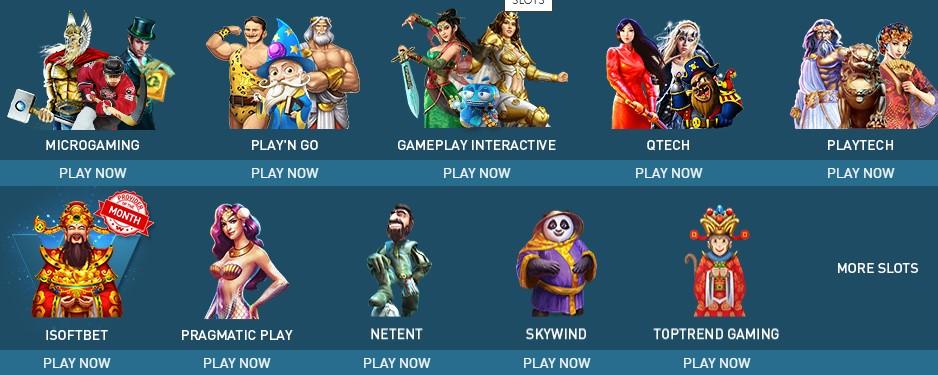 các đối tác slot game W88